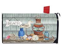 Beachy Vibes Mailbox Cover-BLM00778
