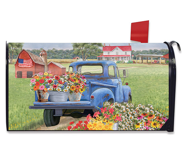 Day on the Farm Mailbox Cover