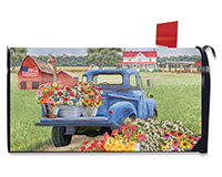 Day on the Farm Mailbox Cover-BLM00781