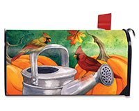 Fall Watering Can Mailbox Cover-BLM00898