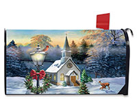 Come All Ye Faithful Mailbox Cover-BLM00903