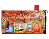 Apple Picking Mailbox Cover-BLM00945