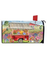 Spring Farm Mailbox Cover-BLM01289