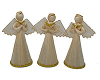 6 inch Veronica Gold Trim ANGEL01306