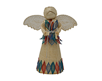 8 inch Leah Nativity Jewel Tones ANGEL01348
