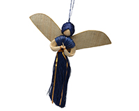 18 inch Glena Angel-Gold Trim-ANGEL0166B