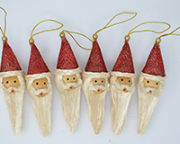 Santa Head 4 inch ANGEL03134