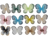 Brushart LG Nylon Butterfly Assortment BRUSH0110