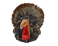 Brushart Turkey-BRUSH01100X