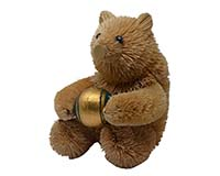 Brushart Bear with Ball-BRUSH01106