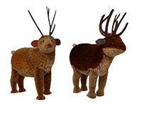 11 inch Brushart Reindeer BRUSH01108