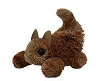 7 inch Brushart Kitten Marmalade Pouncing-BRUSH01110