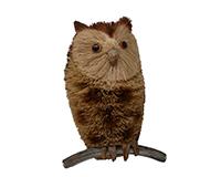 10 inch Brushart Owl Spotted-BRUSH01150