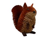 16 inch Brushart Squirrel-BRUSH0123X