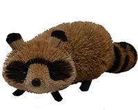 18 inch Brushart Raccoon-BRUSH0138X