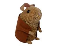 Brushart Rabbit with Jacket-BRUSH0141L