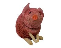 12 inch Brushart Pig Sitting Pink-BRUSH0148P