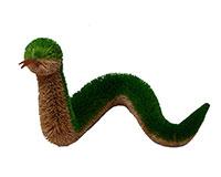 10 inch Brushart Green Snake BRUSH0159
