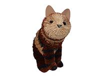 Brushart Calico Cat BRUSH0188L