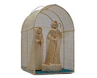 8 inch Nativity with Manger-BRUSH02068