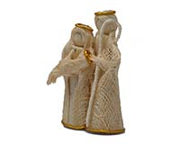 4 inch Brushart Loving Holy Family BRUSH02084