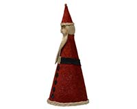10 inch Brushart Santa with Base-BRUSH03120