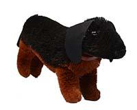 18 inch Brushart Dachshund Dog BRUSHEDC18