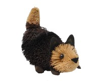 Kitten Pounce Black Brushart Ornament BRUSHOR105