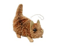 Kitten Marmalade Brushart Ornament BRUSHOR110