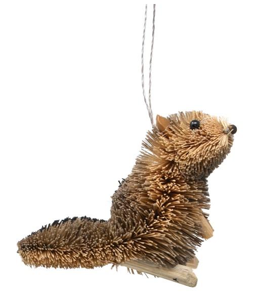 Chipmunk Brushart Ornament