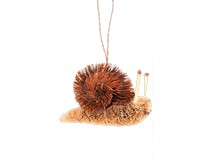 Snail Brushart Ornament BRUSHOR17