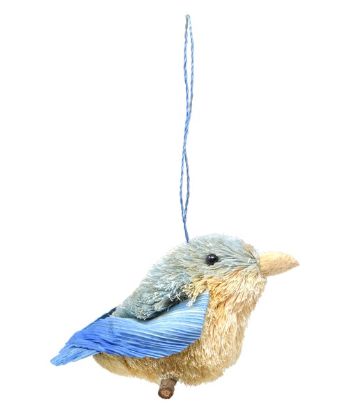Bluebird Brushart Ornament BRUSHOR27B'