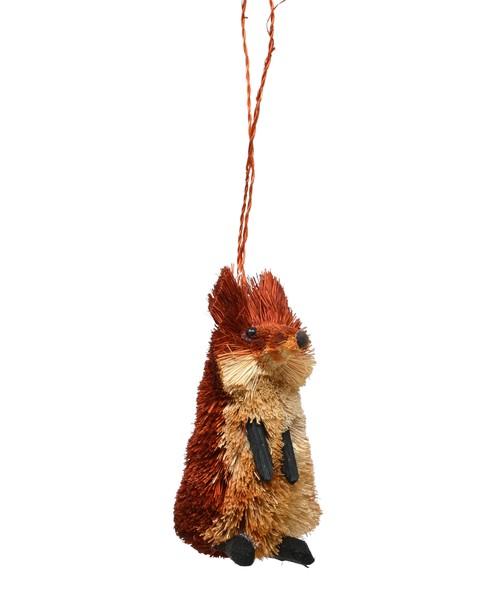 Fox Brushart Ornament BRUSHOR45'