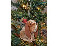 Brushart Dog Basset Ornament BRUSHOR64BA