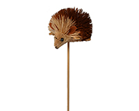 Hedgehog Brush Art Plant Pal-BRUSHSK11
