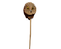 Owl Brush Art Plant Pal BRUSHSK15