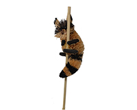 Raccoon Brush Art Plant Pal-BRUSHSK38