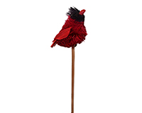 Cardinal Brush Art Plant Pal-BRUSHSK97