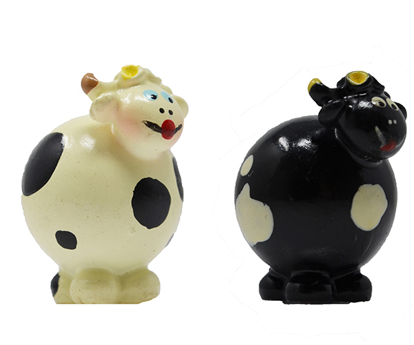 Round Head Cow Marble (Set of 2) MUST ORDER 3 SETS MARBLE0204
