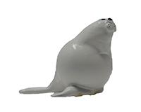 Seal Marble Figurine-MARBLE0223