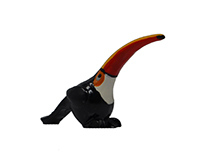 Toucan Marble Figurine-MARBLE0225