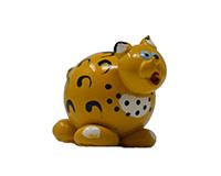 Leopard Marble Figurine-MARBLE0240