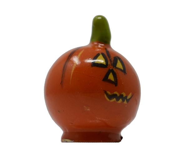 Halloween Pumpkin Marble Figurine