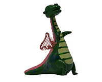 Dragon with Wings Marble Figurine-MARBLE0304
