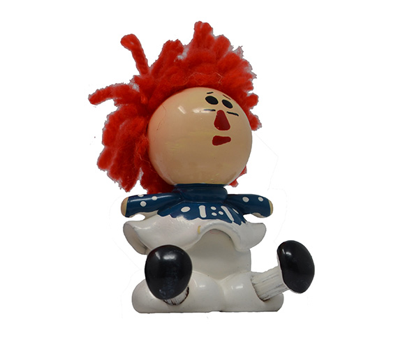 Small Rag Doll Girl Marble MARBLE0316