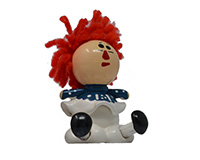 Small Rag Doll Girl Marble Figurine-MARBLE0316