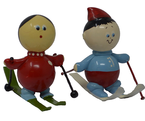 Snow Skier Marble (Set of 2) MUST ORDER 2 SETS MARBLE0319