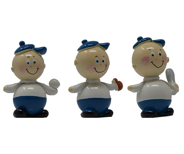 Baseball Player Marble (Set of 3) MUST ORDER 2 SETS MARBLE0328