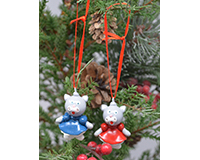 Kittens Marble Ornament (Set of 2) MUST ORDER 3 SETS MARBLE03OR43