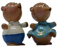 Bear Couple Marble (Set of 2) MUST ORDER 2 SETS MARBLE0416